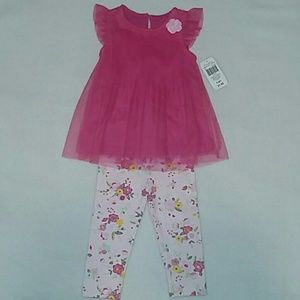 Baby starters 2pc top and pant set